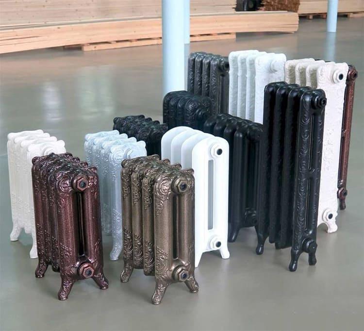Размеры радиатора отопления могут меняться в широком диапазоне