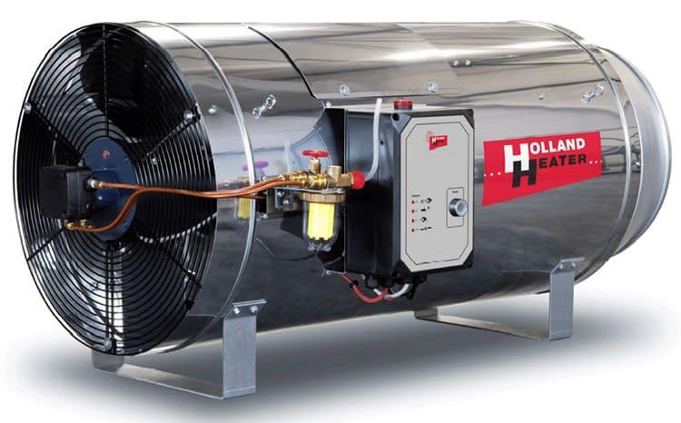 Перечень конструктивных элементов у газовой тепловой пушки может отличаться