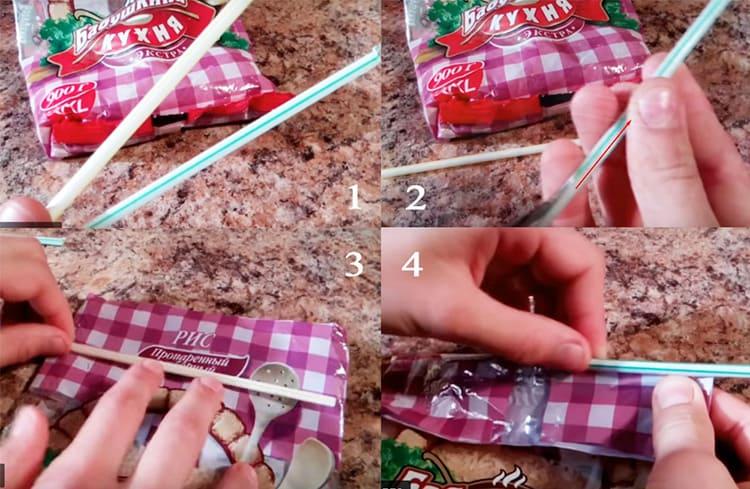 Пакетные лайфхаки: невероятно полезные идеи на каждый день