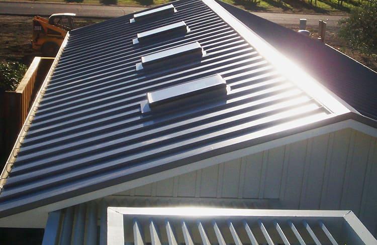 Алюминиевая крыша лёгкая и долговечная