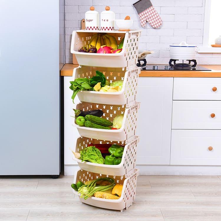 В открытых ящиках все овощи будут сохнуть в тёплом климате квартиры буквально на глазах