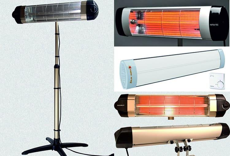 Инфракрасные газовые обогреватели для дома могут иметь различный дизайн и конструкцию