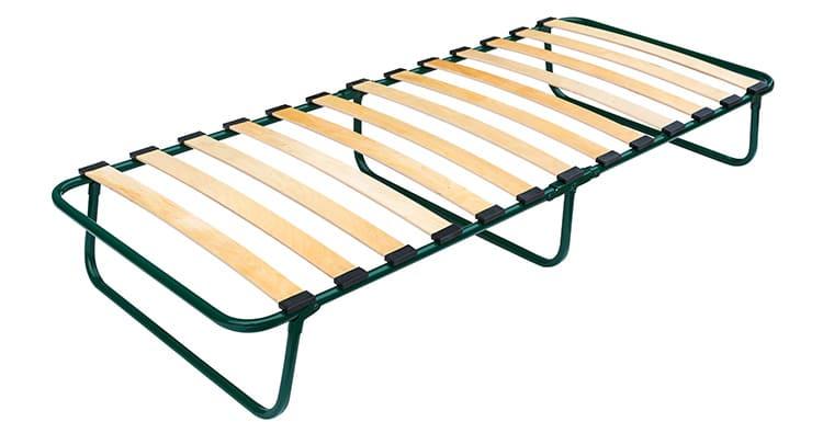 Раскладушка на ламелях – лучший вариант для ежедневного использования