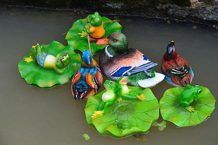 Плавающие персонажи не намокают, они покрыты водостойкими красками. Цена каждого – от 680 рублей