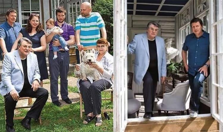 Семья Александра Ширвиндта