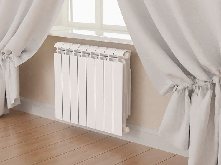Современные и лёгкие алюминиевые радиаторы отлично впишутся в ваш интерьер