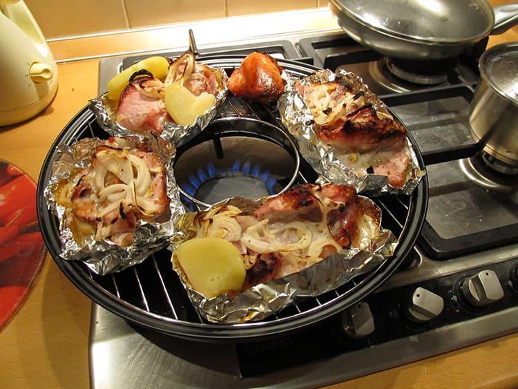 Сочные, ароматные продукты на такой сковороде готовятся без масла или жира