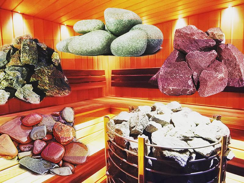 Какой камень нужен для бани