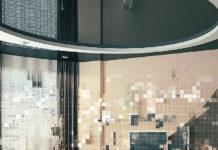 Натяжные глянцевые потолки – красиво оформить комнату несложно: фото оригинальных решений в интерьере