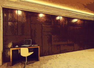 Стеновые панели МДФ визуально заменят массив дерева