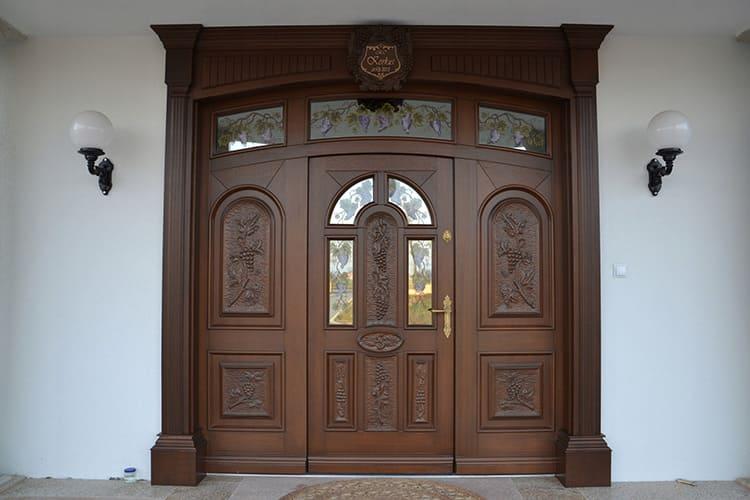 Форма двери выбирается индивидуально