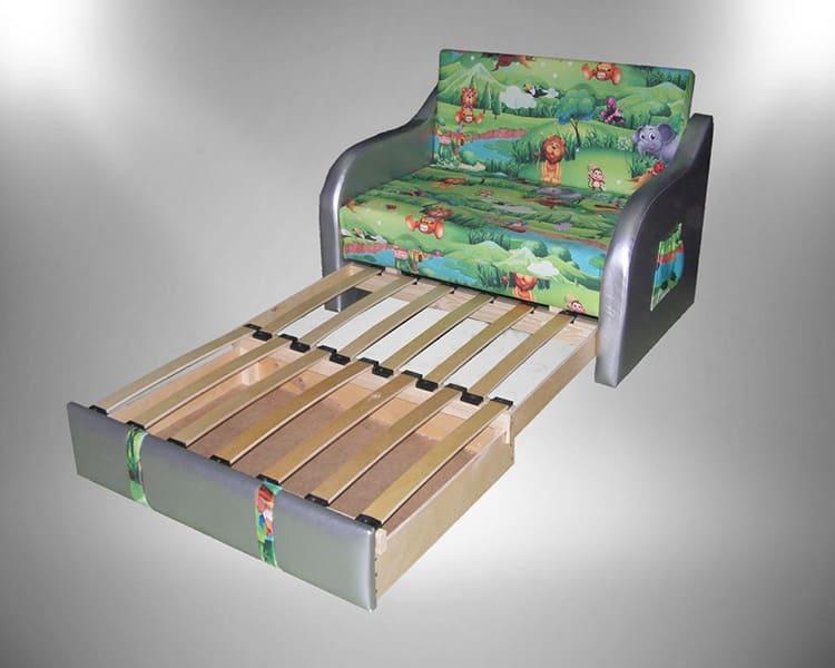 Детский диван с выдвижной системой трансформации