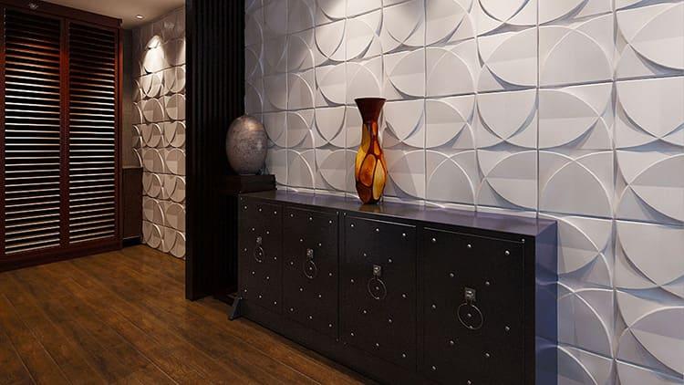 Материал влияет на внешний вид декоративных элементов