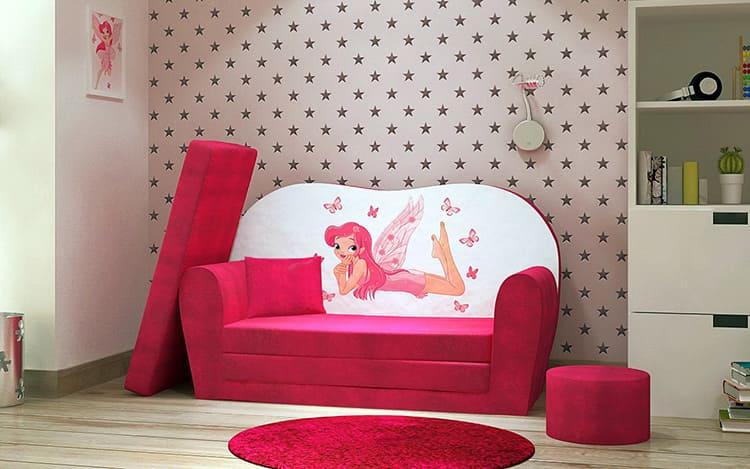 Детский диванчик для девочки