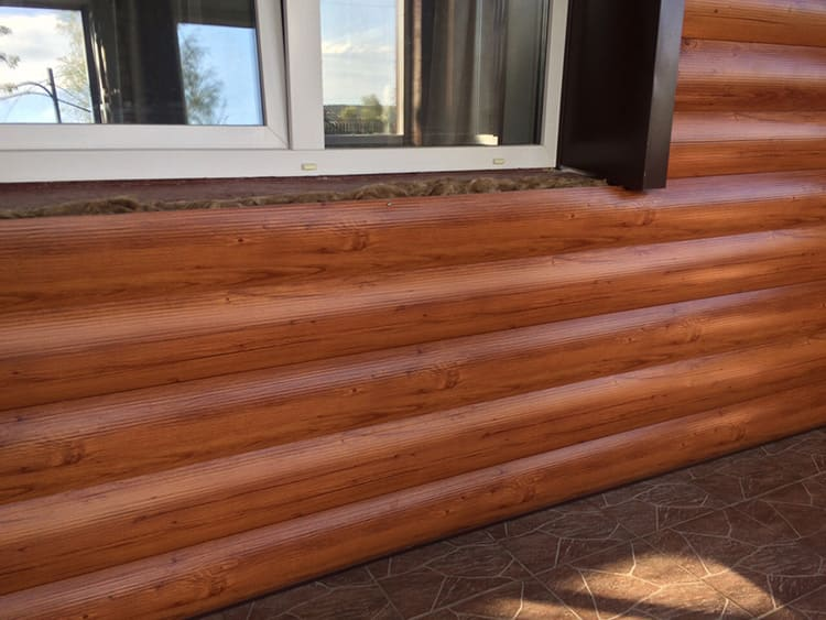 Блок-хаус – альтернатива натуральным брёвнам