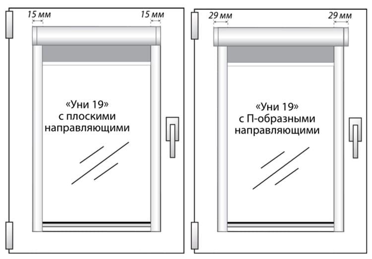При завешивании окон, дизайнерскую сторону нужно направлять внутрь помещения