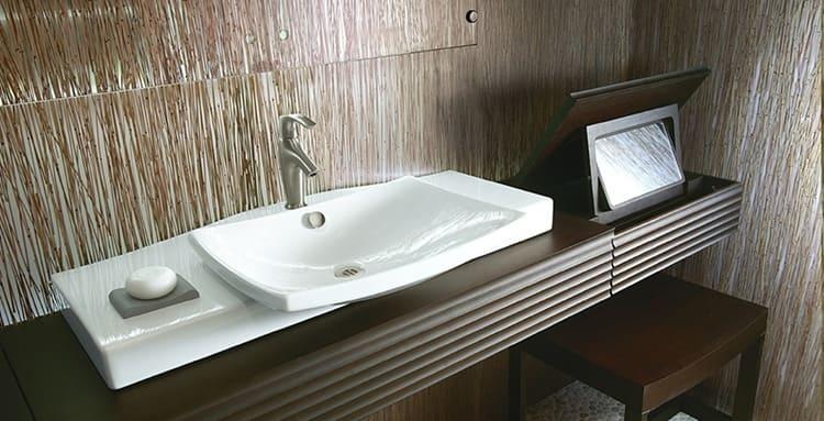 Стеновые панели, монтируемые в ванной комнате, должны быть влагостойкими