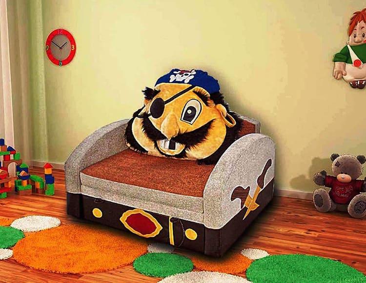 Выбор дизайна дивана предоставьте ребёнку