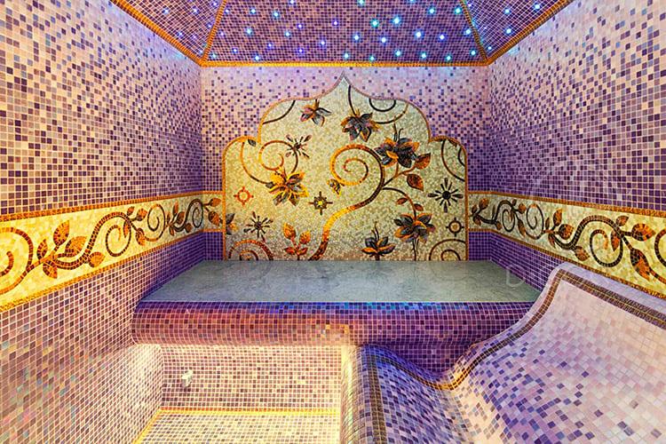Турецкий хаммам – прекрасный декор для частной сауны