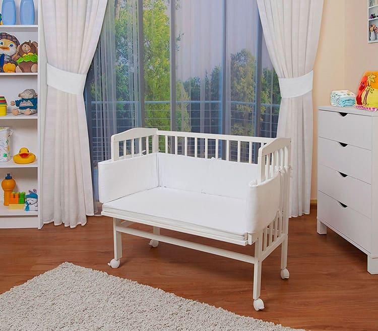 Приставная кровать для детей до 1 года