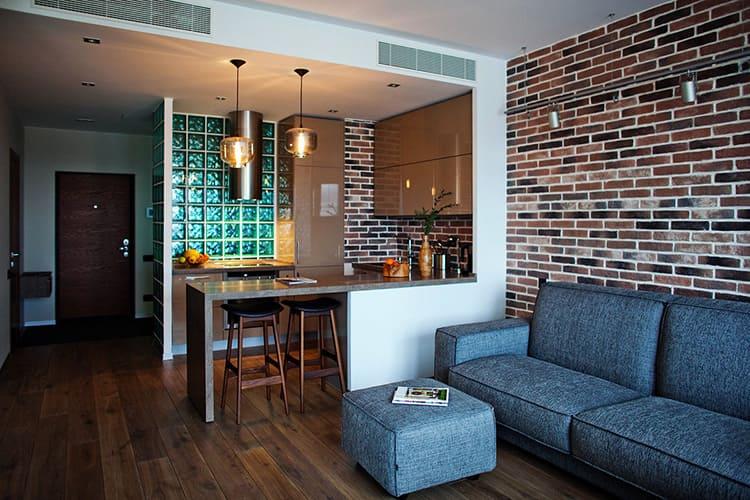 Новые тренды дизайна квартиры-студии в 2019 году