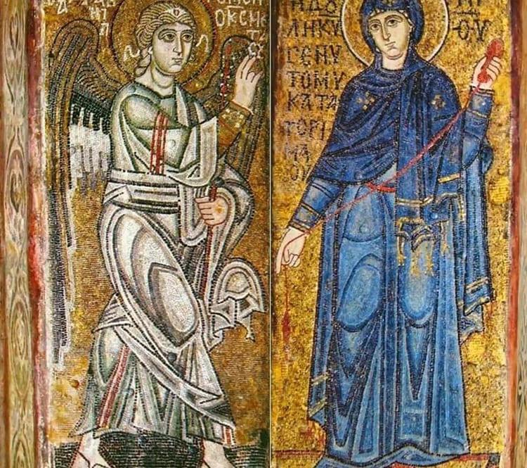 Киевская София представляет самые известные в мире монументальные мозаичные панно и фрески начала XI века