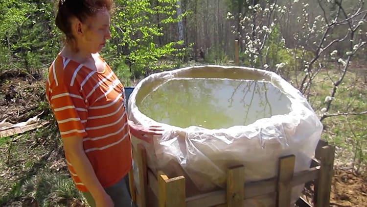 Благодаря использованию полиэтилена, в воде не будет ржавчины