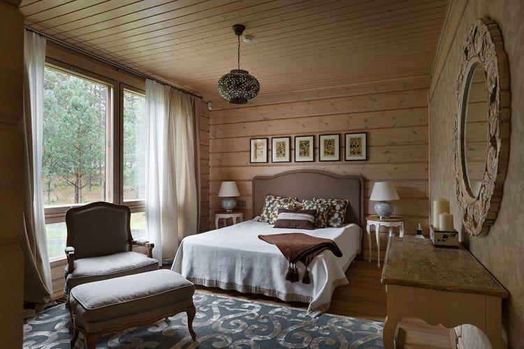 Красивый текстиль и удобная кровать будут основным лейтмотивом