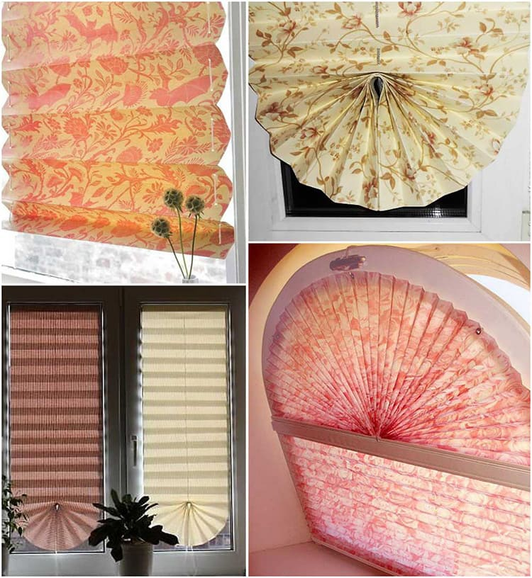 При создании бумажных жалюзи не забывайте про декорирование