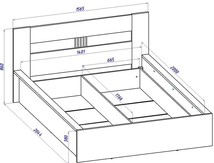 Если есть какие-то проблемы со здоровьем, важно приобретать двуспальную кровать с достатком свободного пространства