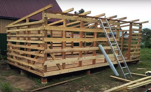 Как, где и из чего построить хозблоки для дачи: практические советы