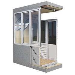 Как выполняется современное утепление балкона