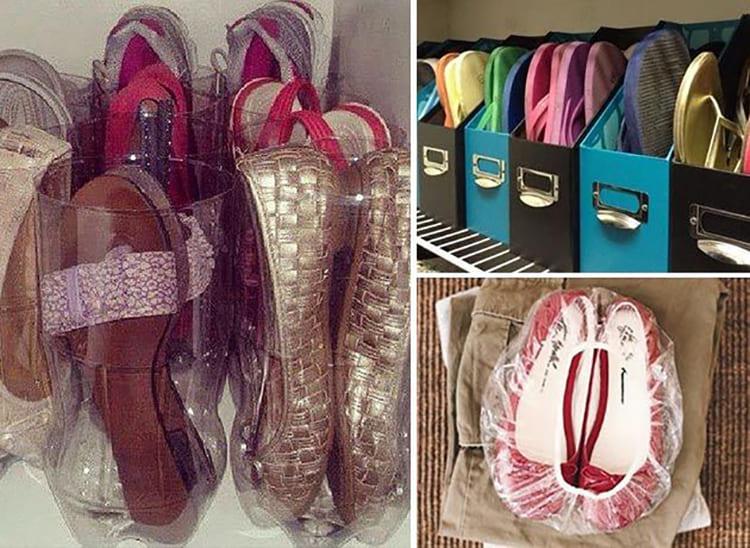 ФОТО: expert-tour.ru Вся ваша обувь будет аккуратно уложена в чемодан.