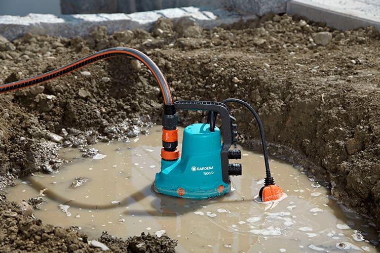 Дренажный насос – оборудование для откачивания горячей воды