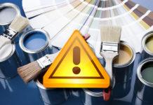 10 ошибок при работе с краской, которые могут стоить вам ремонта