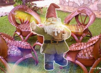 Как сделать роскошное кресло для сада из автопокрышек: практический опыт