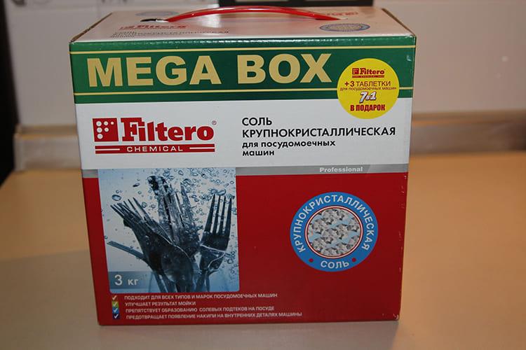 Filtero MEGA BOX – крупнокристаллический состав высокого качества