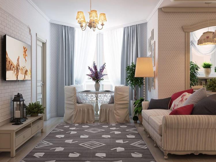 Сложно себе представить интерьер квартиры без текстиля ФОТО: matrade.ru