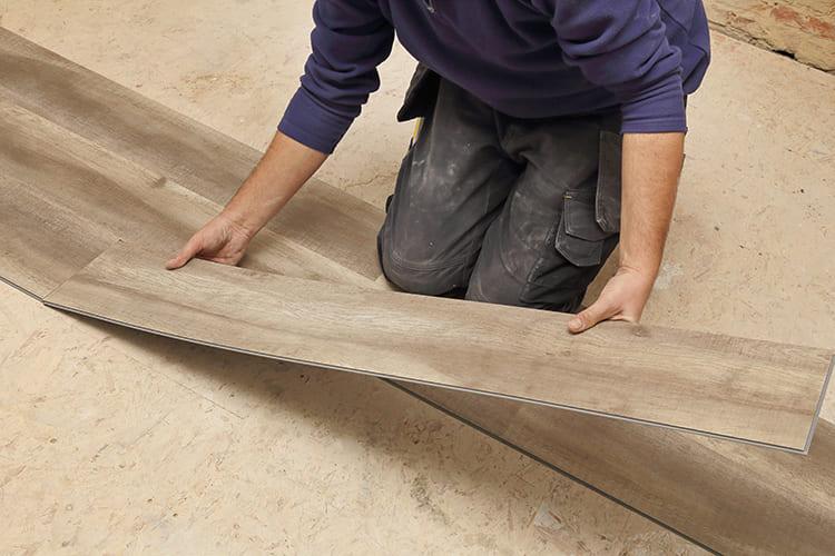 ФОТО: www.northsideflooring.com.au Замковое соединение виниловой плитки.