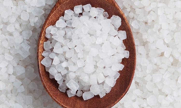 Морская соль – не лучшее решение
