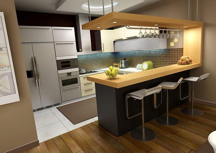 Сама конструкция стойки может отличаться простотой и отсутствием лишних деталей, но при этом выглядеть роскошным украшением ФОТО: tataya175.com