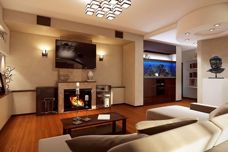 Отделочные материалы могут быть любыми: всё зависит от вкуса и финансовых возможностей владельца квартиры ФОТО: svoimy-rukami.ru