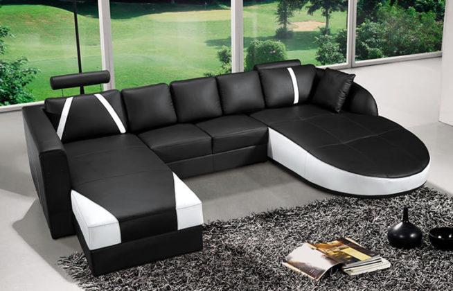 ФОТО: miamibeachfootsurgery.com Для стиля хай-тек лучше выбирать модульную мебель.