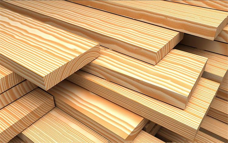 ФОТО: serbestbolge.com Сосновая древесина.