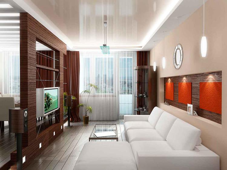 Удобный диван и журнальный столик неизменный атрибут любой гостиной ФОТО: remont-samomy.ru