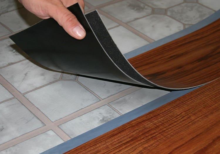 Способ укладки зависит от исполнения кварц-винилового ламината