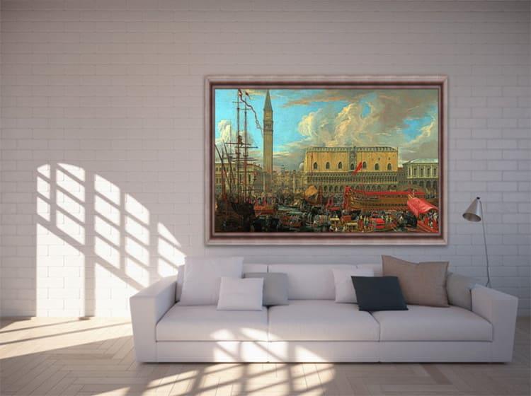 ФОТО: art-print.by Всего одна репродукция на стене – и впечатление об интерьере испорчено полностью.