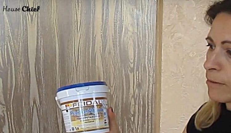 Для финишного покрытия используйте лак. Лучше всего – акриловый или полиуретановый. Я выбрала полиуретановый