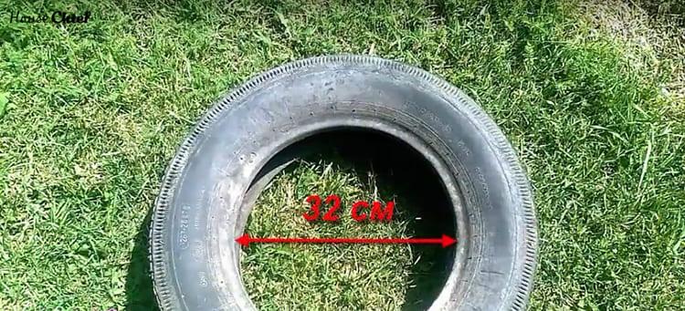 Если у вас под рукой шины большего диаметра – не беда, лишь бы они все были одинаковыми
