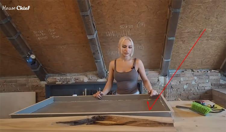 Стол из слэба: как я сама создавала шедевр